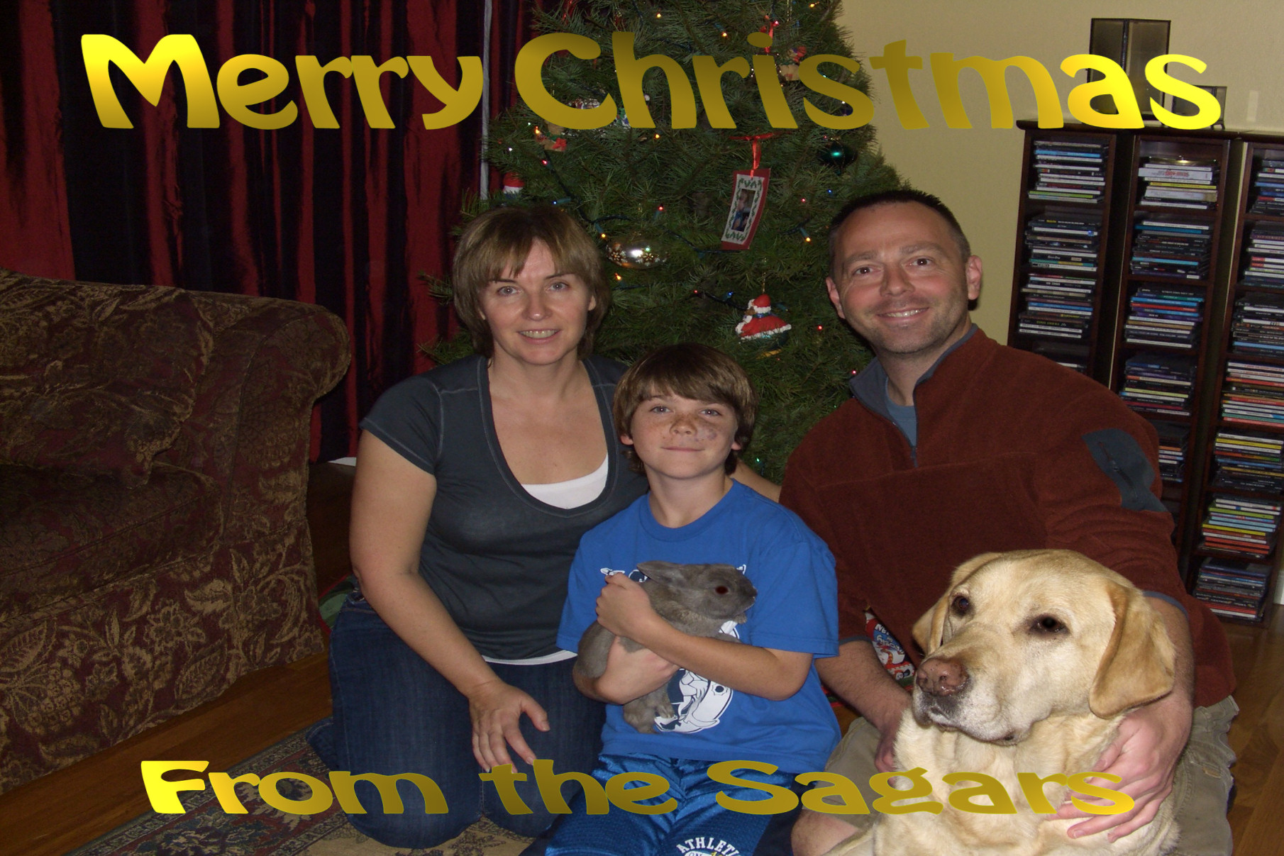Merry Christmas from the Sagars