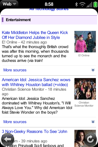Queen and Kate on Google News